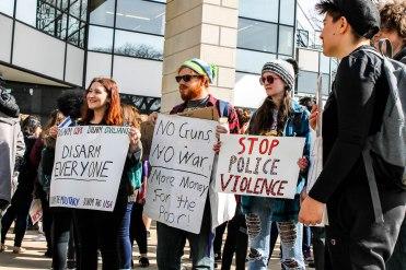 ISU Gun Violence Protest 2