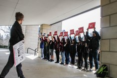 ISU Gun Violence Protest